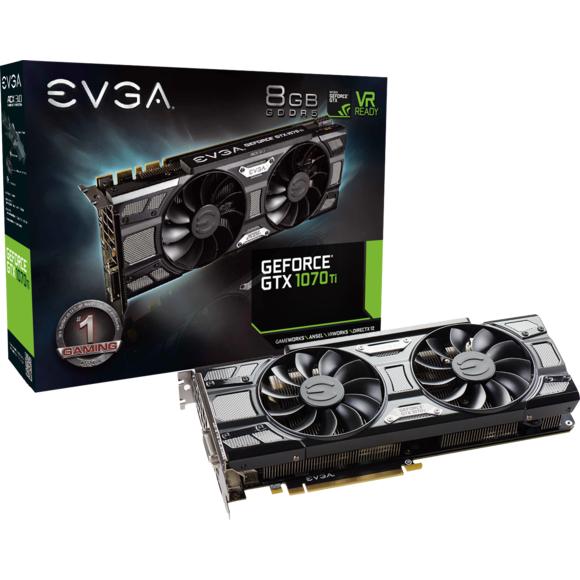 French Days – La carte Evga GeForce GTX 1070 Ti SC ACX3 à 399 €