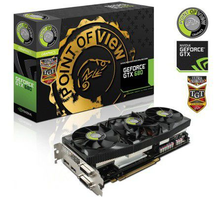 Point of View GTX 680 UltraCharged 4GB