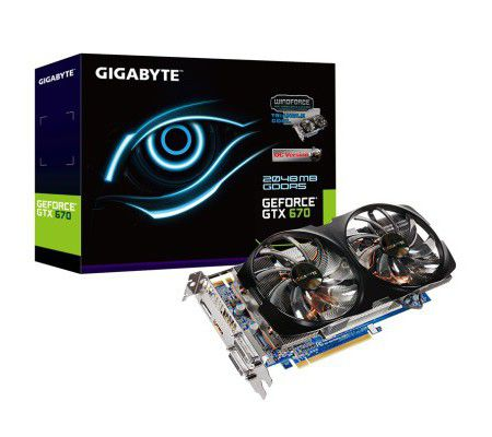 Gigabyte GV-N670WF2-2GD