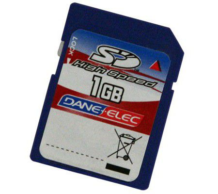 Dane-Elec SD High Speed 1GB