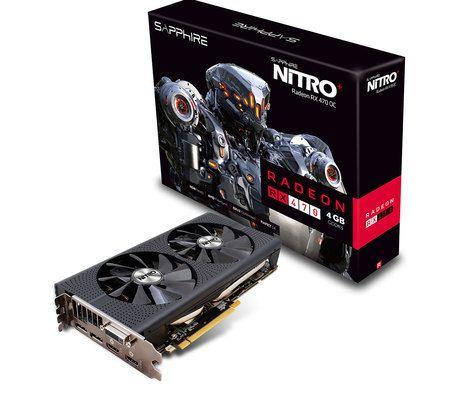 Sapphire Radeon RX 470 Nitro+ 4GD5 OC