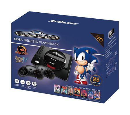 AtGames Sega Megadrive Flashback HD