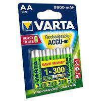 Varta Rechargeable Accu 2600 mAh AA/HR6