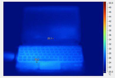 Mini 210 2040ef temperature