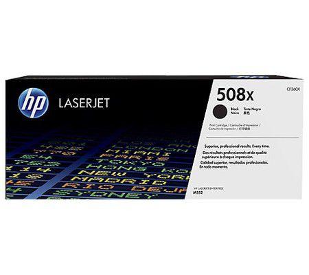 HP HP 508X toner LaserJet Noir grande capacité