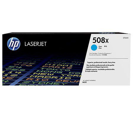 HP HP 508X toner LaserJet Cyan grande capacité