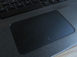 HP Envy 15 touchpad