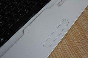 HP G62 touchpad