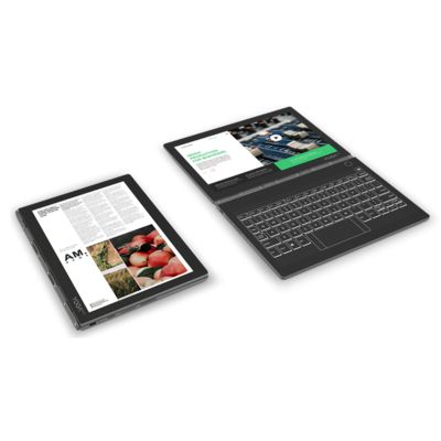 Lenovo Yoga Book C930: pas de clavier mais deux écrans!