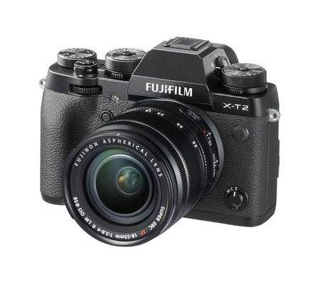 Fujifilm X-T2 + 18-55 mm f/2,8-4