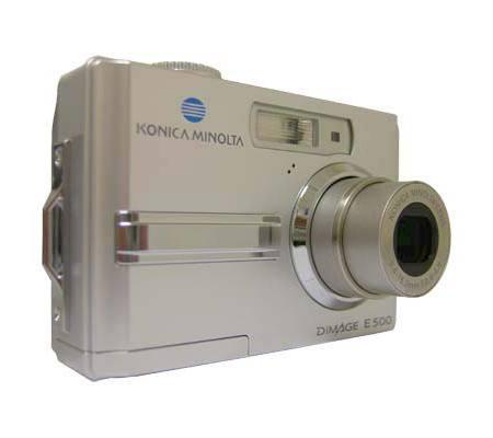 Konica Minolta Dimage E500