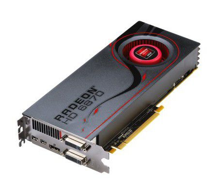 AMD Radeon HD 6870 1 Go