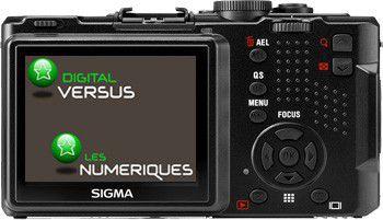 Sigma DP1x test review avis vue de dos