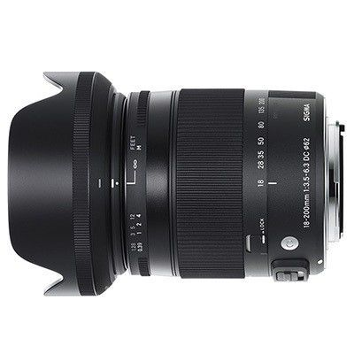 Zoom Sigma 18-200 mm f/3,5-6,3 DC Macro OS HSM: ultra polyvalent