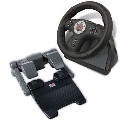 Speed Link Power Feedback Racing Wheel