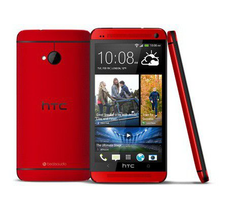 HTC One rouge