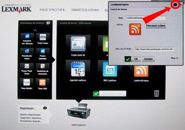 Lexmark smart solutions