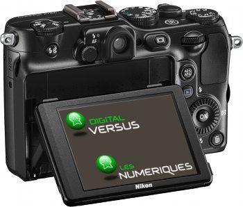 Nikon P7100 test review avis vue de dos