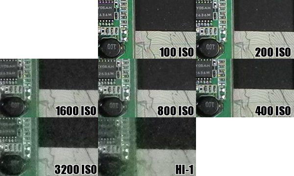 Nikon P7100 test review avis gestion du bruit électronique