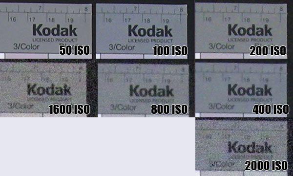 Nikon Coolpix S500 : montée ISO