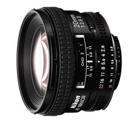 Nikon AF Nikkor 20 mm f/2.8D