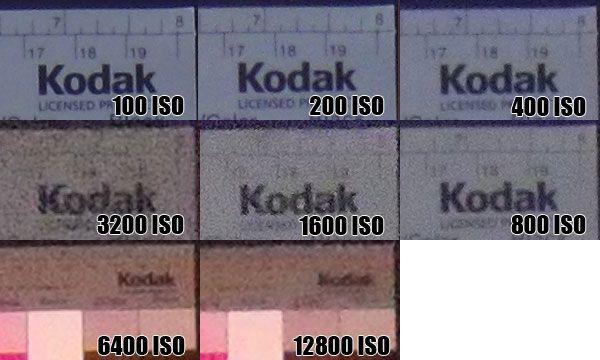 Nikon Coolpix S710 montée ISO