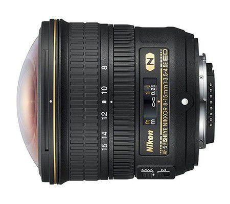 Nikon AF-S Fisheye NIKKOR 8-15 mm f/3.5-4.5E ED