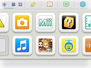 Nintendo 3DS interface