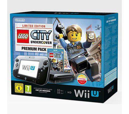 Nintendo Pack Wii U 32 Go + Lego City Undercover