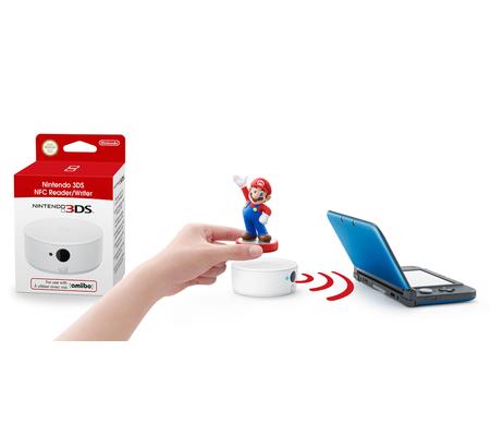 Nintendo Lecteur/Enregistreur NFC amiibo pour 3DS/3DS XL et 2DS