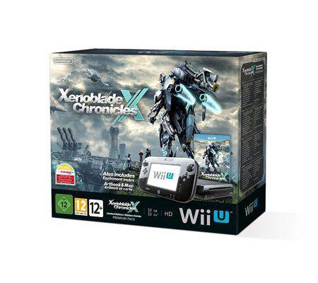Nintendo Wii U 32 Go - Noire + Xenoblade Chronicles X