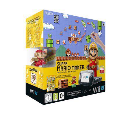 Nintendo Nintendo Wii U 32 Go noire + Super Mario Maker