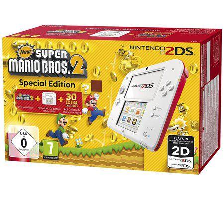 Nintendo Nintendo 2DS + New Super Mario Bros. 2 - édition spéciale