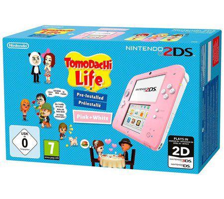 Nintendo 2DS + Tomodachi Life préinstallé