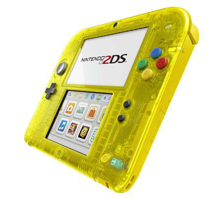 Nintendo 2DS + Pokémon jaune pré-installé