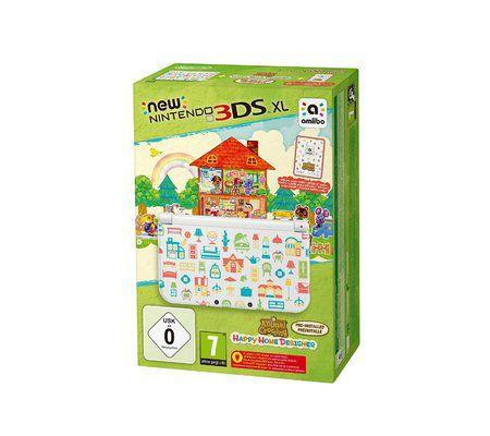 Nintendo New 3DS XL + Animal Crossing : Happy Home Designer