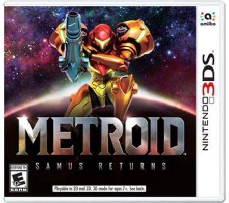Nintendo Metroid Samus Returns