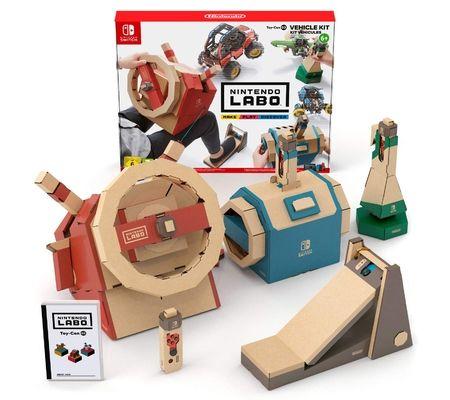Nintendo Labo Toy-Con 03 Kit Véhicules