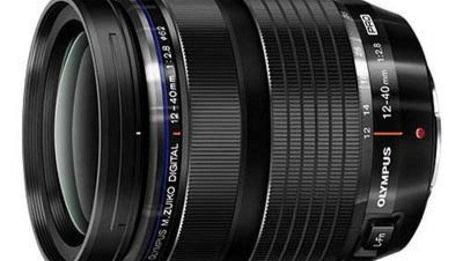 L'objectif Olympus 12-40 mm f/2,8 M. Zuiko ED