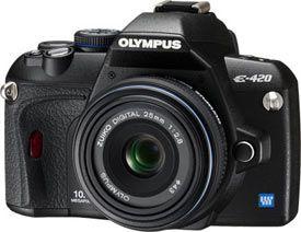 Olympus E-420-25mm
