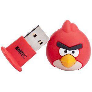 Emtec Angry Bird rouge 4 Go