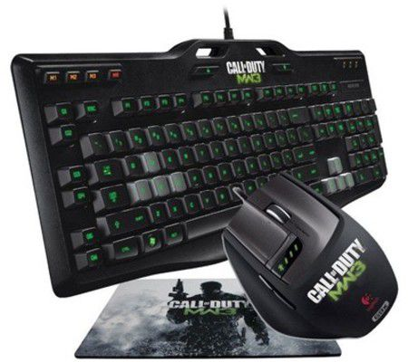 Logitech Gaming G105 & G9x Call of Duty MW3