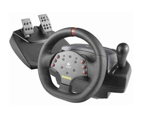 logitech momo racing force feedback wheel test complet. Black Bedroom Furniture Sets. Home Design Ideas