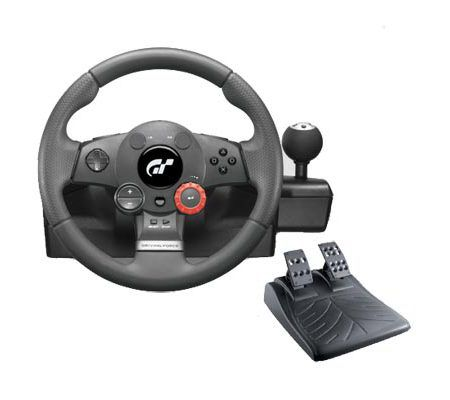 logitech driving force gt test complet volant les num riques. Black Bedroom Furniture Sets. Home Design Ideas