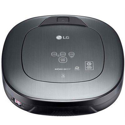 LG Hom-Bot Turbo+ VR9647PS: un aspirateur-robot avec caméra de surveillance