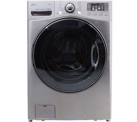 Un lave linge d 39 une capacit record de 17 kg chez lg - Tambour machine a laver prix ...