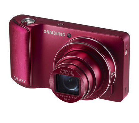 Samsung Galaxy Camera Rouge