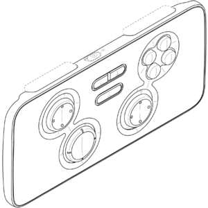 Samsung Game Pad Bluetooth pour Gear VR