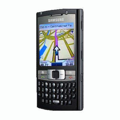 Samsung SGH-I780 et Garmin Mobile XT