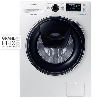 Samsung AddWash WW90K6414QW   test, prix et fiche technique - Lave-linge -  Les Numériques a3a3caa61908